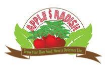 """Design a Logo for """"Apple & Radish"""". Need urgently için Graphic Design26 No.lu Yarışma Girdisi"""
