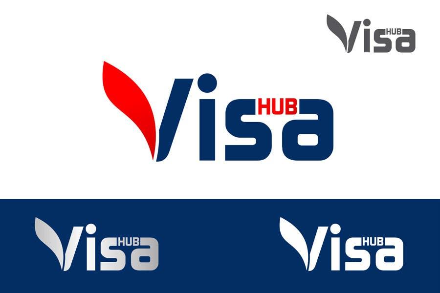 Konkurrenceindlæg #                                        143                                      for                                         Logo Design for Visa Hub