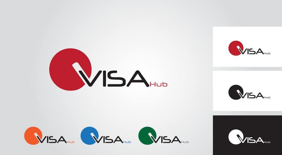 Proposition n°                                        75                                      du concours                                         Logo Design for Visa Hub