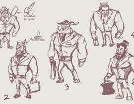 #5 for Character Design af Milos009