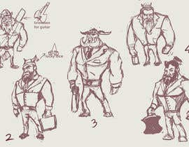 #5 untuk Character Design oleh Milos009
