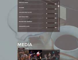 sureetcynthia1 tarafından Design a Website Mockup for a Country Musician için no 32