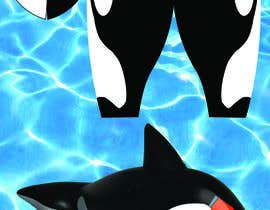 Nro 6 kilpailuun Create a David Bowie orca pool float käyttäjältä plumleedesigns