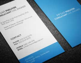#96 untuk Design some Business Cards for Imfsar Mauvin oleh aalnoman33