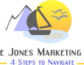 Nro 71 kilpailuun :Design a Logo for a new business: georgie jones 4 step marketing group käyttäjältä reem2005