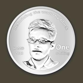 #9 for I need some Graphic Design for a coin token by Geobriegal
