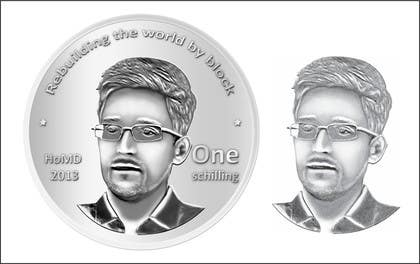 #16 for I need some Graphic Design for a coin token by Geobriegal