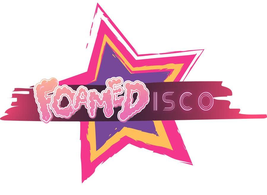 Kilpailutyö #93 kilpailussa Foamedisco logo