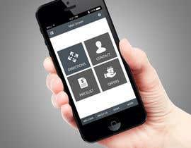 Nro 1 kilpailuun Mobile app home page design needed käyttäjältä PerfectPixel360