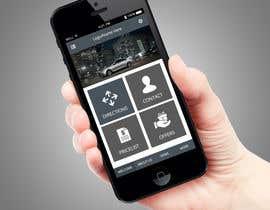 Nro 2 kilpailuun Mobile app home page design needed käyttäjältä PerfectPixel360