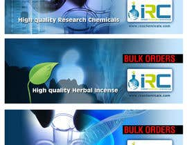 #20 untuk Banner Ad Design for Import Research Chemicals oleh sunanda1956