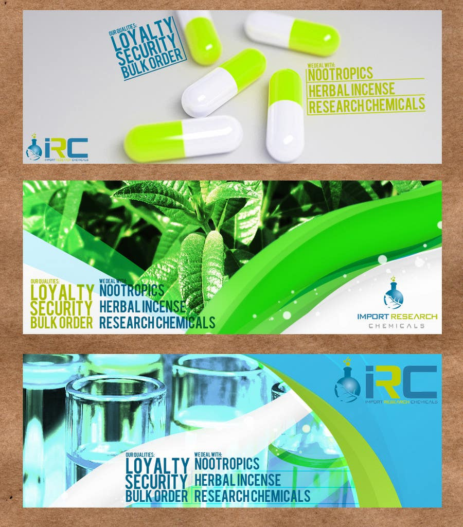 Bài tham dự cuộc thi #15 cho Banner Ad Design for Import Research Chemicals