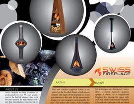 #13 untuk Design a Flyer for my company selling fireplaces oleh Emrulhossain