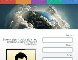 nº 5 pour Design a Facebook landing page for web development company par designBox16