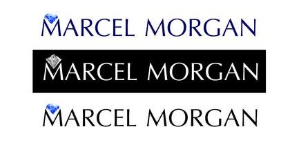 #28 for Design a Logo for Marcel Morgan jewellery brand af panastasia