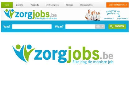 #509 for Design Logo for zorgjobs.be by puntocreativoCo