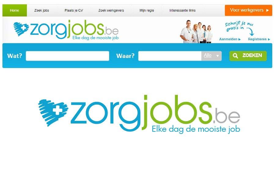 #515 for Design Logo for zorgjobs.be by puntocreativoCo