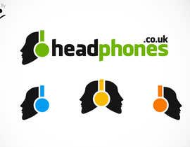 #218 para Design a Logo for Headphones.co.uk por Krcello