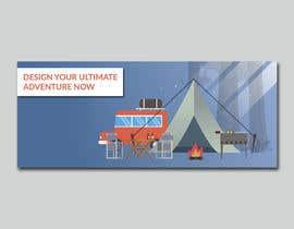 Nro 1 kilpailuun Design a Banner for an Adventure Travel Website käyttäjältä worksuchit