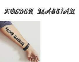 Nro 7 kilpailuun Tattoo Lettering käyttäjältä MuDesign