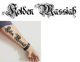 Nro 10 kilpailuun Tattoo Lettering käyttäjältä MuDesign