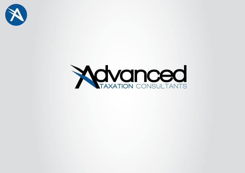 Penyertaan Peraduan #                                        124                                      untuk                                         Logo Design for Advanced Taxation Consultants