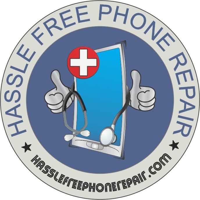 Bài tham dự cuộc thi #51 cho Design a Logo for a phone repair company.