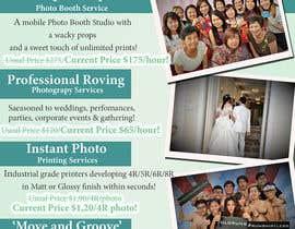 Nro 6 kilpailuun Design flyer for photography studio käyttäjältä jassna