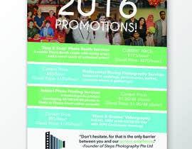 Nro 23 kilpailuun Design flyer for photography studio käyttäjältä jasminmaurice