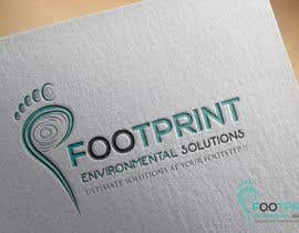 Partho001 tarafından Logo for Footprints Environmental Solutions için no 38