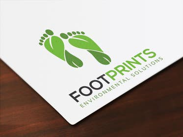 ingamul tarafından Logo for Footprints Environmental Solutions için no 19