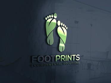ingamul tarafından Logo for Footprints Environmental Solutions için no 20