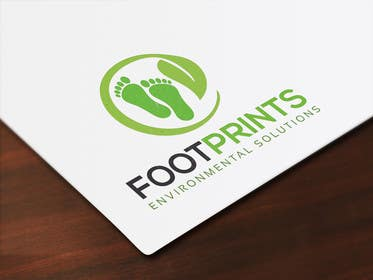 ingamul tarafından Logo for Footprints Environmental Solutions için no 22