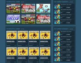 Nro 7 kilpailuun Arcade Game Website Play Online käyttäjältä noppp