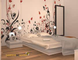 #17 for bedroom interior design af beehive3dworks