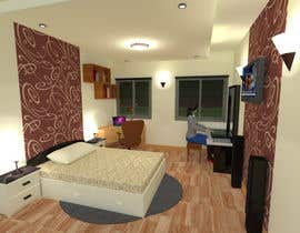 #25 for bedroom interior design by SaiSengMain