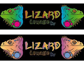nº 6 pour Logo design for live event streaming website: Lizard Lounge Tv par Queberry333