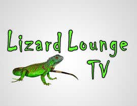 #33 para Logo design for live event streaming website: Lizard Lounge Tv por stajera