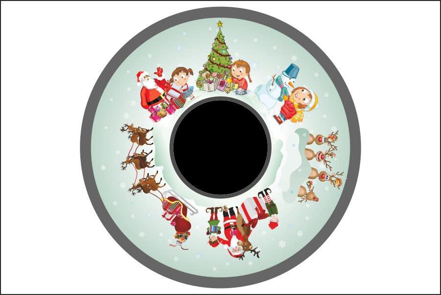 Bài tham dự cuộc thi #35 cho Christmas Effect Wheels