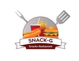 aajmanzalawy tarafından Design a Logo for: Snacks Restaurant için no 49