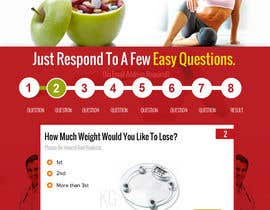 #15 para Design a Website Mockup for Weight Loss Website por suryabeniwal