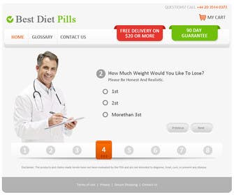 #21 for Design a Website Mockup for Weight Loss Website by mydZnecoz