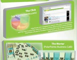 nº 11 pour Graphic Design for Flyer for PolarPointe.com, the entrepreneurs social network. par s3r4ph11