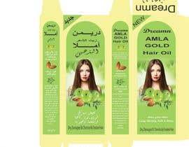 Nro 3 kilpailuun Revamp the existing design of Amla Hair Oil Label and Mono Carton käyttäjältä maidang34