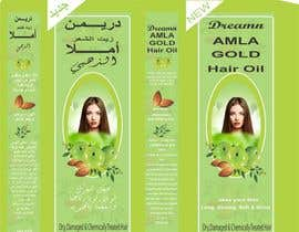 Nro 5 kilpailuun Revamp the existing design of Amla Hair Oil Label and Mono Carton käyttäjältä maidang34