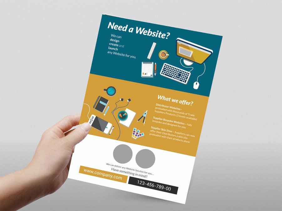 entry 1 by imamhaja for need a website email flyer design request