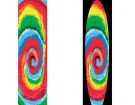 #30 cho Create High Resolution Tie-Dye Art for a Paddleboard bởi dulphy82