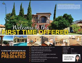 Nro 18 kilpailuun Design a Real Estate Advertisement käyttäjältä teAmGrafic