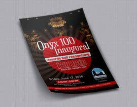 Nro 11 kilpailuun Design a Flyer- Onyx 100 Honoree Reception käyttäjältä prabhjotsajjan