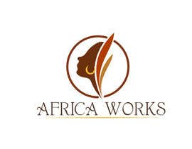 #217 para Logo Design for Africa Works por ulogo